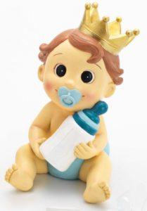 hucha bebe nina corona rosa 209x300 - ¿Quién se encarga de los recuerdos de un Bautizo?