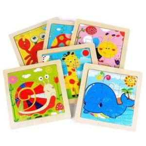 puzzle rompecabezas madera infantil 11x11 cm 300x300 - ¿Que regalar en un cumpleaños infantil?