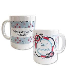 taza persnino decorada min5 263x300 - Tazas para Regalar en Comuniones