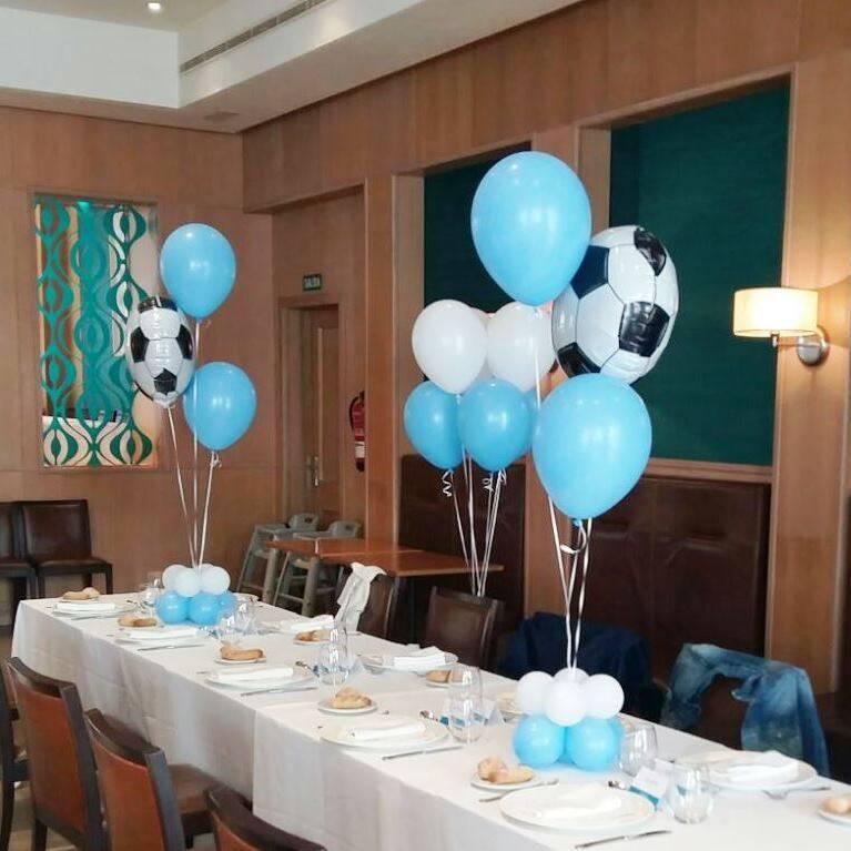 Comunion tematica futbol blog daeryregalos - Como decorar un salon para comunion ...